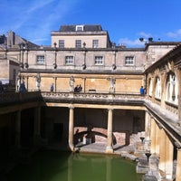 Photo taken at The Roman Baths by Philippe G. on 6/1/2013