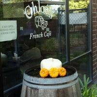 Photo taken at Chloé's French Café by Leesa M. on 10/25/2012