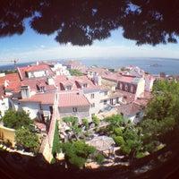 Photo taken at São Jorge Castle by Olgi on 5/13/2013