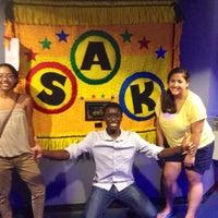 Photo taken at SAK Comedy Lab by Stephanie G. on 7/13/2013