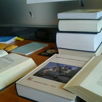 Photo taken at Biblioteca di Scienze Sociali by Roberta M. on 2/12/2013