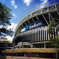 Photo taken at ANZ Stadium by Christi L. on 4/5/2013