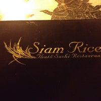 Photo taken at Siam Rice by Irina V. on 4/21/2014
