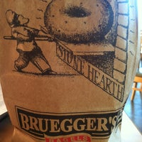 Photo taken at Bruegger's by Amanda P. on 2/2/2013