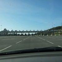 Photo taken at A1 - Portagem Alverca by Nelson N. on 1/5/2013