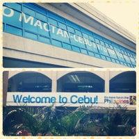 Photo taken at Mactan-Cebu International Airport (CEB) by Jeann M. on 4/11/2013