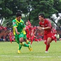 Photo taken at Stadion Bhumi Phala Temanggung by Rival A. on 6/11/2013