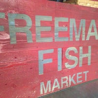 Photo taken at Freeman's Fish Market by Kelly S. on 8/11/2013