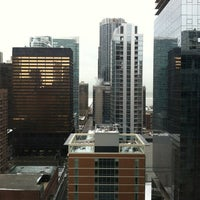 Photo taken at InterContinental Chicago Magnificent Mile by Carolynn Z. on 3/2/2013
