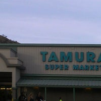 Photo taken at Tamura Super Market by Christine K. on 7/26/2013