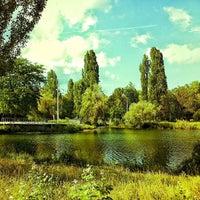 Photo taken at Парк Гагарина by Sj K. on 6/23/2013