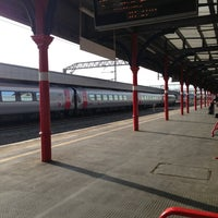 Photo taken at Stockport Railway Station (SPT) by David H. on 7/8/2013