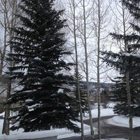 Photo taken at Aspen Meadows Resort by Joanna H. on 2/28/2013