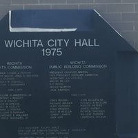 Photo taken at Wichita City Hall by Ruth D. on 9/30/2016