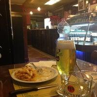 Photo taken at Brasserie La Loggia by Giovanna V. on 1/8/2013