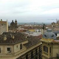 Photo taken at Hostal Atenas Granada by Alina A. on 4/20/2014