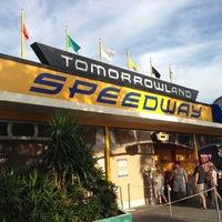Photo taken at Tomorrowland® Speedway by Fun Box B. on 10/16/2012