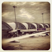 Photo taken at Suvarnabhumi Airport (BKK) by arsara on 7/18/2013