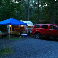 Photo taken at Drummer Boy Camping Resort by Jerry H. on 8/3/2013
