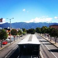 Photo taken at TransMilenio: Avenida Cali by Juan K. on 1/1/2014