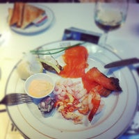 Photo taken at Caviar House & Prunier by Cédric R. on 9/19/2012