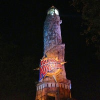 Photo taken at Islands Of Adventure Lighthouse by Cédric R. on 4/9/2013
