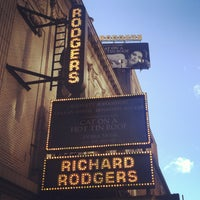 Photo taken at Richard Rodgers Theatre by Martin S. on 1/20/2013
