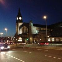 Photo taken at Hamburg Central Station by Konstantin B. on 5/11/2013