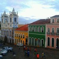 Photo taken at Largo do Pelourinho by Roberta S. on 5/14/2013