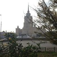 Photo taken at Краснопресненская набережная by Ivan S. on 10/11/2013