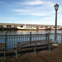 Photo taken at The Embarcadero by M Daniel F. on 1/4/2012