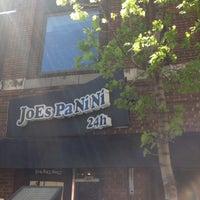Photo taken at Joe's Panini by John E. on 5/6/2013