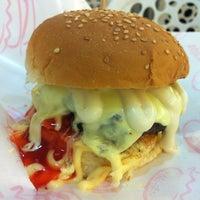 Photo taken at Burger Bakar Abang Burn by hairulshafik on 2/17/2013