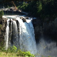 Photo taken at Snoqualmie Falls by Svetlana G. on 7/1/2013