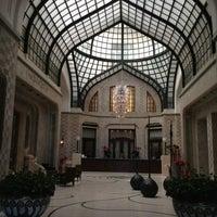 Photo taken at Four Seasons Hotel Gresham Palace Budapest by Jackie F. on 7/23/2013