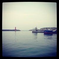 Photo taken at 모슬포항 by Jung H. on 7/3/2013