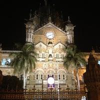 Photo taken at Chhatrapati Shivaji Terminus by Nebozhenko E. on 3/13/2013
