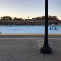 Photo taken at Highbridge Park Pool by Jason B. on 11/6/2016