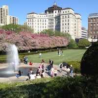 Photo taken at Central Park - Conservatory Garden by Samuel R. on 4/27/2013