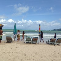 Photo taken at Gay Beach Patong by ДМИТРИЙ Е. on 6/30/2014