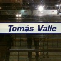 Photo taken at Estación Tomás Valle - Metropolitano by Enrique A. on 4/20/2013