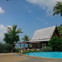 Photo taken at Haadlad Prestige Resort And Spa Koh Phangan by Evgeniy N. on 1/29/2014