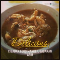 Photo taken at Cibadak Food Market by T&A on 3/24/2013