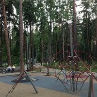 Photo taken at Dzintaru Mežaparks by Katya M. on 6/30/2013