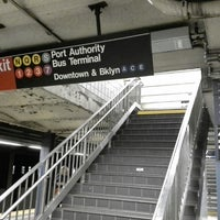 Photo taken at MTA Subway - 42nd St/Times Square/Port Authority Bus Terminal (A/C/E/N/Q/R/S/1/2/3/7) by Shane R. on 5/14/2013