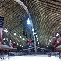 Photo taken at David S. Ingalls Rink by graceygoo on 12/12/2012