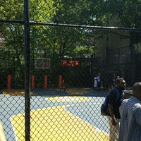 Photo taken at West 4th Street Courts (The Cage) by Ted P. on 6/25/2016