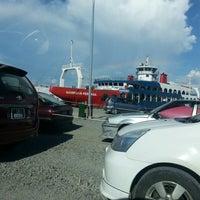 Photo taken at Terminal Feri Menumbuk, Sabah by E'jump P. on 4/28/2013