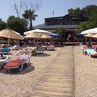 Photo taken at Butik Han Beach Otel by aaMett on 7/19/2013