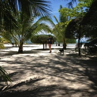 Photo taken at Malibu Beach Bungalows Koh Phangan by Arina E. on 4/28/2013